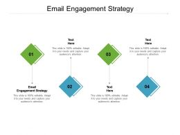 Email Engagement Strategy Ppt Powerpoint Presentation Infographic Template Cpb