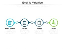 Email Id Validation Ppt Powerpoint Presentation Gallery Slideshow Cpb