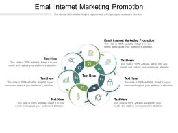Email Internet Marketing Promotion Ppt Powerpoint Presentation Visual Aids Inspiration Cpb