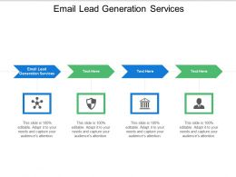 Email Lead Generation Services Ppt Powerpoint Presentation Infographics Professional Cpb