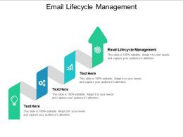 Email Lifecycle Management Ppt Powerpoint Presentation Icon Styles Cpb