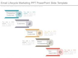 Email Lifecycle Marketing Ppt Powerpoint Slide Template