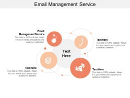 Email Management Service Ppt Powerpoint Presentation File Smartart Cpb