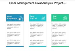 Email Management Swot Analysis Project Development Advertising Marketing Cpb