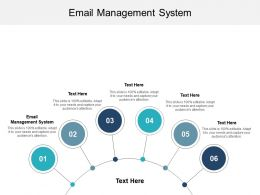 Email Management System Ppt Powerpoint Presentation Layouts Information Cpb