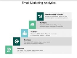 Email Marketing Analytics Ppt Powerpoint Presentation Slides Mockup Cpb
