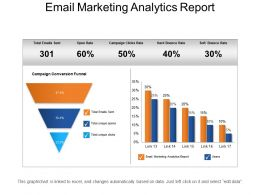 Email Marketing Analytics Report Example Of Ppt