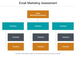 Email Marketing Assessment Ppt Powerpoint Presentation Model Vector Cpb