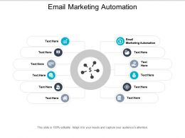 Email Marketing Automation Ppt Powerpoint Presentation File Layout Ideas Cpb