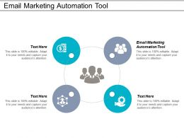 Email Marketing Automation Tool Ppt Powerpoint Presentation Gallery Graphics Pictures Cpb