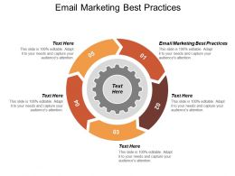 Email Marketing Best Practices Ppt Powerpoint Presentation Gallery Icon Cpb