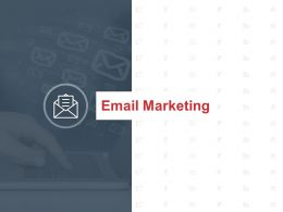 Email Marketing Business Management Ppt Powerpoint Presentation File Ideas
