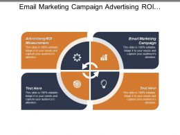 Email Marketing Campaign Advertising Roi Measurement Consumer Marketing Cpb