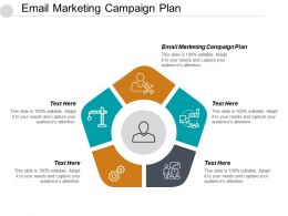 Email Marketing Campaign Plan Ppt Powerpoint Presentation Gallery Example File Cpb