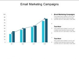 Email Marketing Campaigns Ppt Powerpoint Presentation Backgrounds Cpb