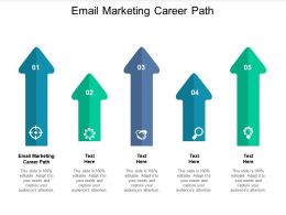 Email Marketing Career Path Ppt Powerpoint Presentation Professional Files Cpb