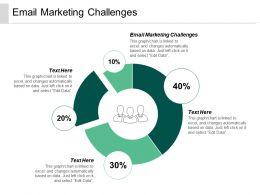 Email Marketing Challenges Ppt Powerpoint Presentation Gallery Portfolio Cpb