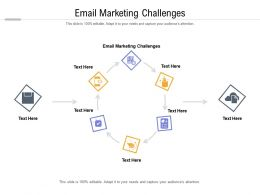 Email Marketing Challenges Ppt Powerpoint Presentation Pictures Deck Cpb