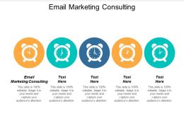 Email Marketing Consulting Ppt Powerpoint Presentation Icon Designs Cpb