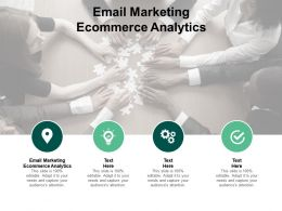 Email Marketing Ecommerce Analytics Ppt Powerpoint Presentation Model Cpb
