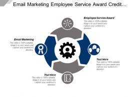 Email Marketing Employee Service Award Credit Score Management Cpb
