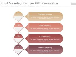 Email Marketing Example Ppt Presentation