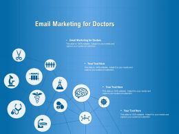 Email Marketing For Doctors Ppt Powerpoint Presentation Layouts Gridlines