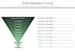 Email Marketing Funnel Ppt Powerpoint Guide