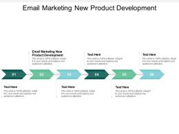 Email Marketing New Product Development Ppt Powerpoint Presentation Layouts Display Cpb