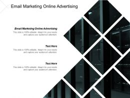 Email Marketing Online Advertising Ppt Powerpoint Presentation Gallery Demonstration Cpb
