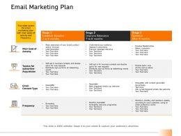 Email Marketing Plan Activity Ppt Powerpoint Presentation Summary Slideshow
