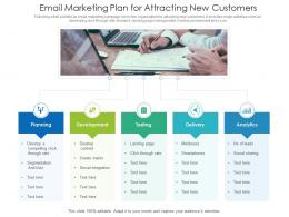 Email Marketing Plan For Attracting New Customers