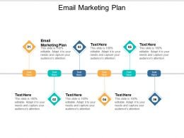 Email Marketing Plan Ppt Powerpoint Presentation Ideas Icon Cpb
