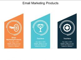 Email Marketing Products Ppt Powerpoint Presentation Gallery Brochure Cpb