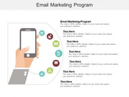 Email Marketing Program Ppt Powerpoint Presentation File Formats Cpb