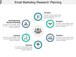 Email Marketing Research Planning Ppt Powerpoint Presentation Portfolio Example Introduction Cpb