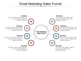 Email Marketing Sales Funnel Ppt Powerpoint Presentation Portfolio Deck Cpb