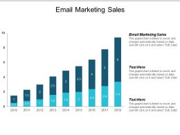 Email Marketing Sales Ppt Powerpoint Presentation Background Images Cpb