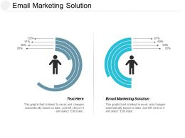 Email Marketing Solution Ppt Powerpoint Presentation Portfolio Gallery Cpb