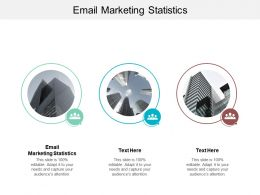 Email Marketing Statistics Ppt Powerpoint Presentation Gallery Structure Cpb