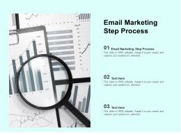Email Marketing Step Process Ppt Powerpoint Presentation Infographics Format Cpb