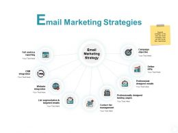 Email Marketing Strategies Campaign Ppt Powerpoint Presentation Maker
