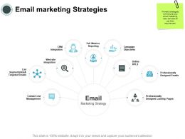 Email Marketing Strategies Management Ppt Powerpoint Presentation Styles Deck