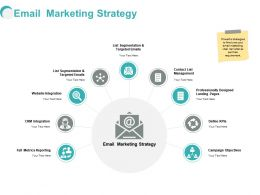 Email Marketing Strategy Ppt Powerpoint Presentation Format
