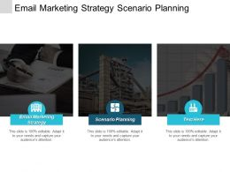 Email Marketing Strategy Scenario Planning Executive Leadership Collaborative Innovation Cpb