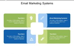 Email Marketing Systems Ppt Powerpoint Presentation Portfolio Ideas Cpb