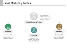 Email Marketing Tactics Ppt Powerpoint Presentation Inspiration Background Designs Cpb