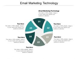 Email Marketing Technology Ppt Powerpoint Presentation Portfolio Pictures Cpb