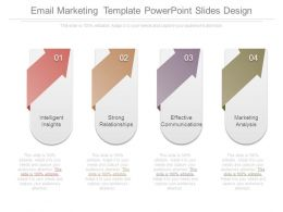 Email Marketing Template Powerpoint Slides Design