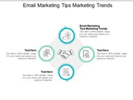Email Marketing Tips Marketing Trends Ppt Powerpoint Presentation Slides Information Cpb
